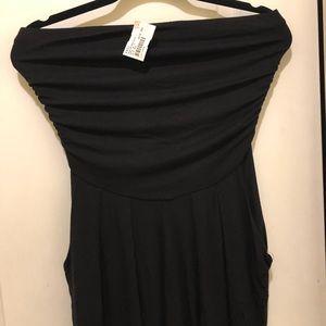 Black pant jumpsuit